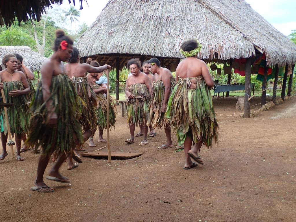 Women dancing their traditional tribal dance